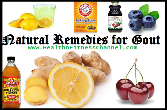 Natural Remedies For Gout Treatment